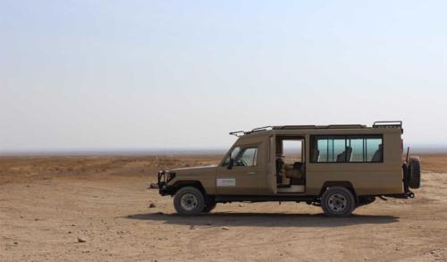 Safarini jeep